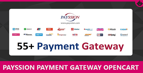 Payssion Payment Gateway for Opencart
